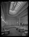 INTERIOR, BANK OFFICERS' AREA - Hibernia Bank, 1 Jones Street, San Francisco, San Francisco County, CA HABS CAL,38-SANFRA,150-4.tif