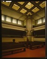 INTERIOR VIEW OF MAIN TEMPLE - Unity Temple, 875 Lake Street, Oak Park, Cook County, IL HABS ILL,16-OAKPA,3-7 (CT).tif