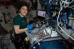 ISS-59 Christina Koch works inside the Harmony module (4).jpg