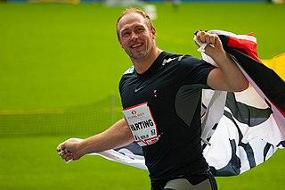 Robert Harting German discus thrower