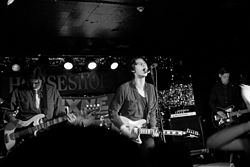 Iceage (band) in Toronto.jpg