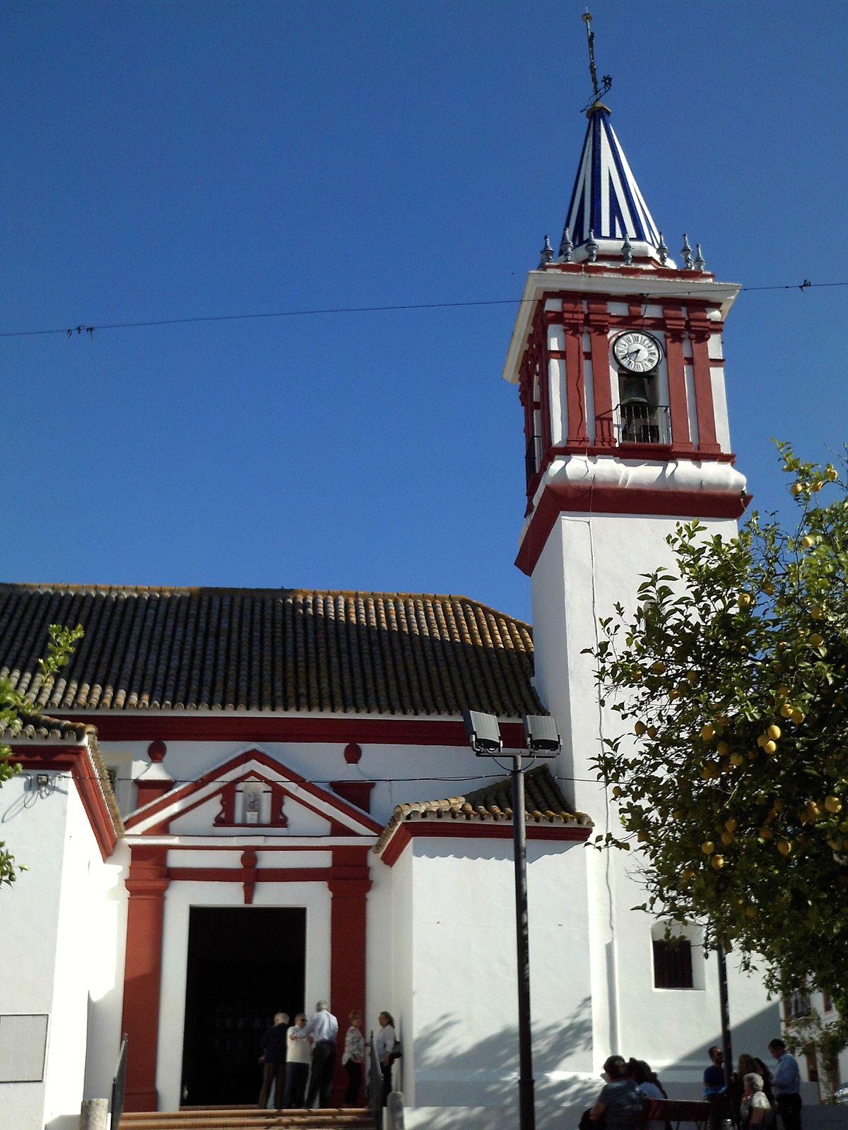 Iglesia De San Miguel Arc Ngel Castilleja Del Campo