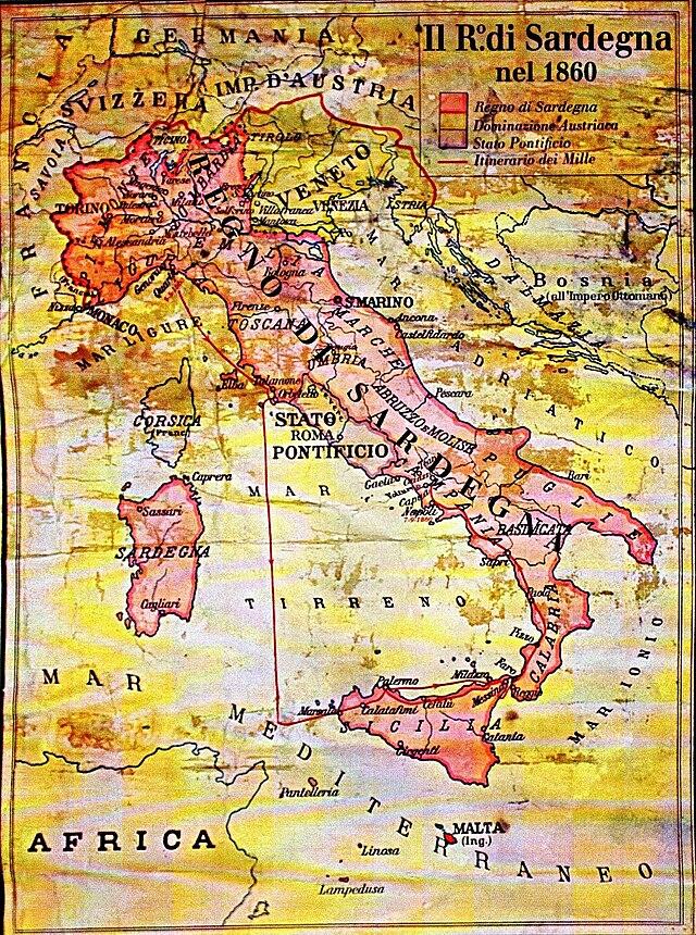 Cartina Del Regno Di Sardegna.Regno Di Sardegna 1720 1861 Wikiwand