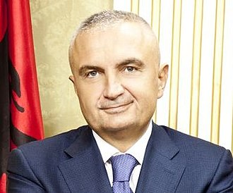 Albanian presidential election, 2017 - Image: Ilir meta (cropped)