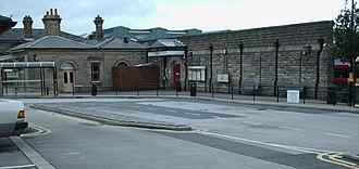 Ilkley railway station - Image: Ilkley station
