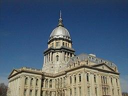 Delstatskongressen i Springfield i Illinois, opført 1868-1888.