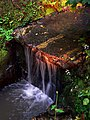 Illuminated Waterfall - geograph.org.uk - 1433576.jpg