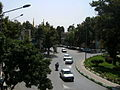 Imam Khomeini st view from skyway - Nishapur 2.JPG