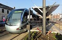 Inauguration de la branche vers Vieux-Condé de la ligne B du tramway de Valenciennes le 13 décembre 2013 (128).JPG