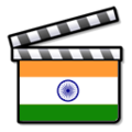 Indian Bollywood film clapperboard icon Nuvola.png