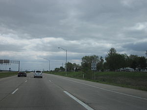 Indiana State Road 930 - SR 930 at the I-469 and US 30 interchange