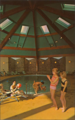 Indoor swimming pool at Tamarack Lodge in Greenfield Park, NY50 (8149376530).png