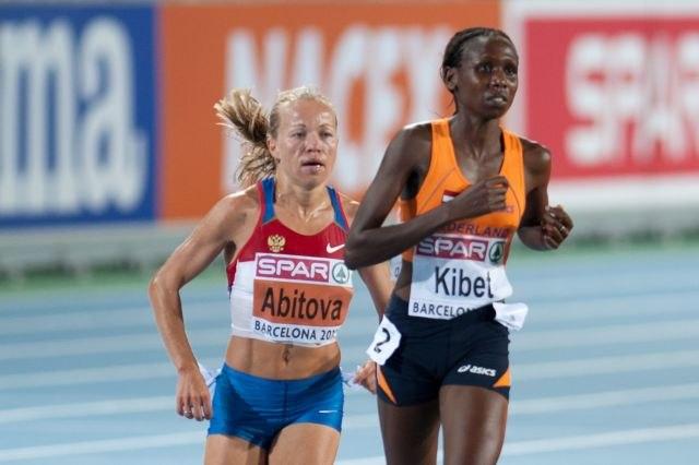 Inga Abitova Hilda Kibet Barcelona 2010