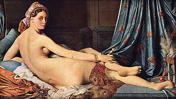 Who is the subject of xname la grande odalisque