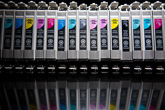 Inkjet printing - Ink-jet cartridges