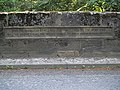 Inscription on Wheelbirks Bridge (east side) - geograph.org.uk - 262641.jpg