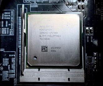 Pentium 4 - Pentium 4 HT Prescott 3.0 GHz on Socket 478