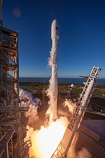 Intelsat 35e communications satellite