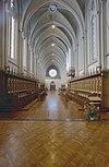 interieur, abdijkerk, overzicht koorgestoelte - berkel-enschot - 20001235 - rce