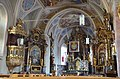 Interior of the Catholic church at Laengenfeld in the Otztal - panoramio.jpg
