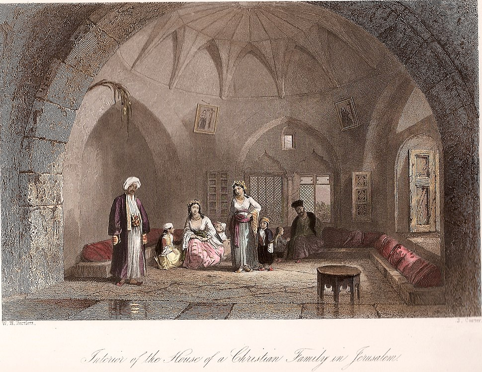 Interior of the House of a Christian Family in Jerusalem.jpg