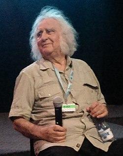"""Interview with Stanisław Jędryka during """"Kino w trampkach"""" festival (cropped).jpg"""