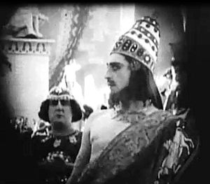 Alfred Paget - Alfred Paget as Prince Belshazzar of Babylon in ''Intolerance'' (1916).
