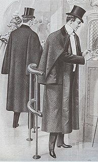 Inverness cape sleeveless caped overgarment