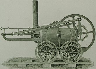 Locomotive - Trevithick's 1802 locomotive