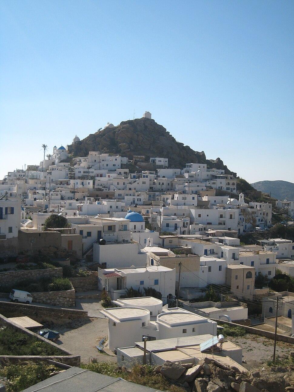 Ios island, Cyclades, Greece hill 2007