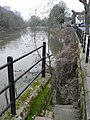 Ironbridge, steps into the river - geograph.org.uk - 636256.jpg