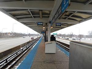 Irving Park station (CTA Blue Line) - Image: Irving Park Station