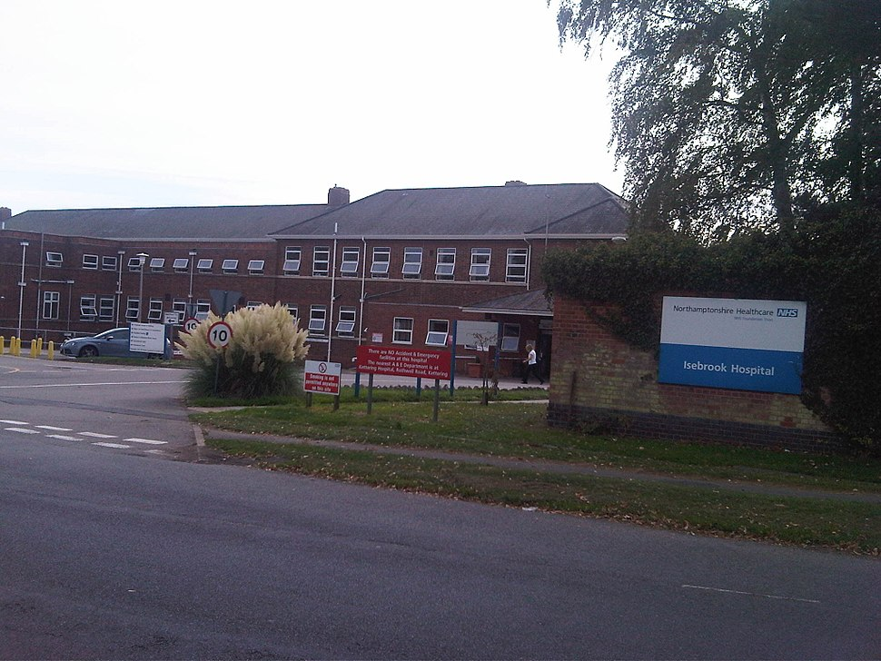 Isebrook Hospital in Wellingborough