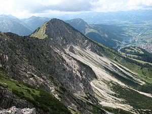 Klettersteig Oberjoch : Ostrachtaler klettersteig neuer im oberallgäu in
