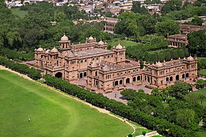 Islamia College University - Aerial view of the college's grounds.