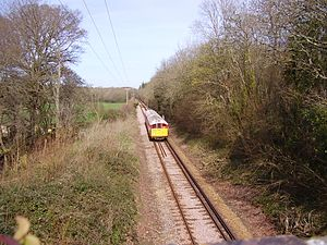 Island Line, Isle of Wight - The line between Ryde and Brading