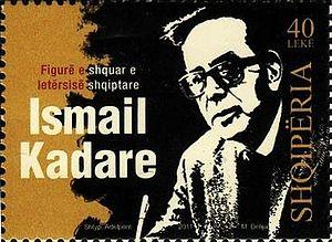 Ismail Kadare - Kadare on Albania's Postal stamps