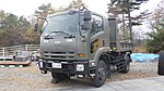 JASDF Dump Truck (Isuzu Forward, 47-2399) left front view at Aibano Sub Base November 28, 2015 02.jpg