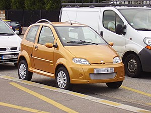 Car classification - Microcar Abaca