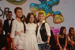 Junior Eurovision Song Contest 2013 - Winners: Ukraine, Malta, Belarus
