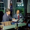 JFK Chep Morrison Oval Office 1961 Reading Color.jpg