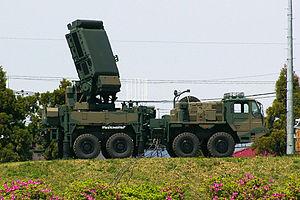Type 03 Chū-SAM - Image: JGSDF Type 03 SAM (rader) 01