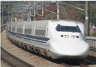 700 Series Shinkansen - JR Central set C37 in April 2009