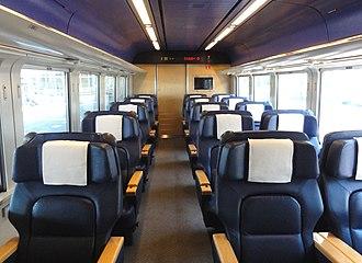 789 series - Image: JR Hokkaido Kuroha 789 100 Green car inside