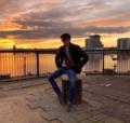 Jack Wyn White at Cardiff Bay outside BBC Roath Lock.png