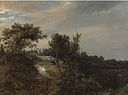 Jacob van Ruisdael - A Landscape with Two Figures on a Rise and a Stream at Right.jpg