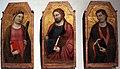 Jacopo del casentino, ss. caterina, jacopo e giovanni evangelista, 1350 ca., da s. prospero a cambiano 01.JPG