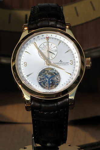 Jaeger-LeCoultre - Jaeger-Lecoultre Tourbillon movement watch