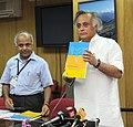 "Jairam Ramesh releasing a book ""A State-of-the Art report on Bioremediation, its applications to contaminated sites in India"", in New Delhi on May 12, 2011.jpg"
