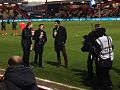 Jake Humphrey, Joey Barton, David James.jpg